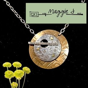 Original Maggie J Mixed Metal Necklace